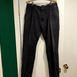 Industrie Men's Navy Blue Chino Pants Size 34x32